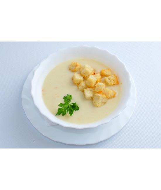 Крем суп куриный